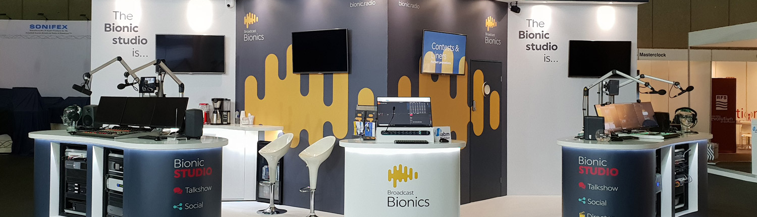 Exhibition Stand for Bionic Studio